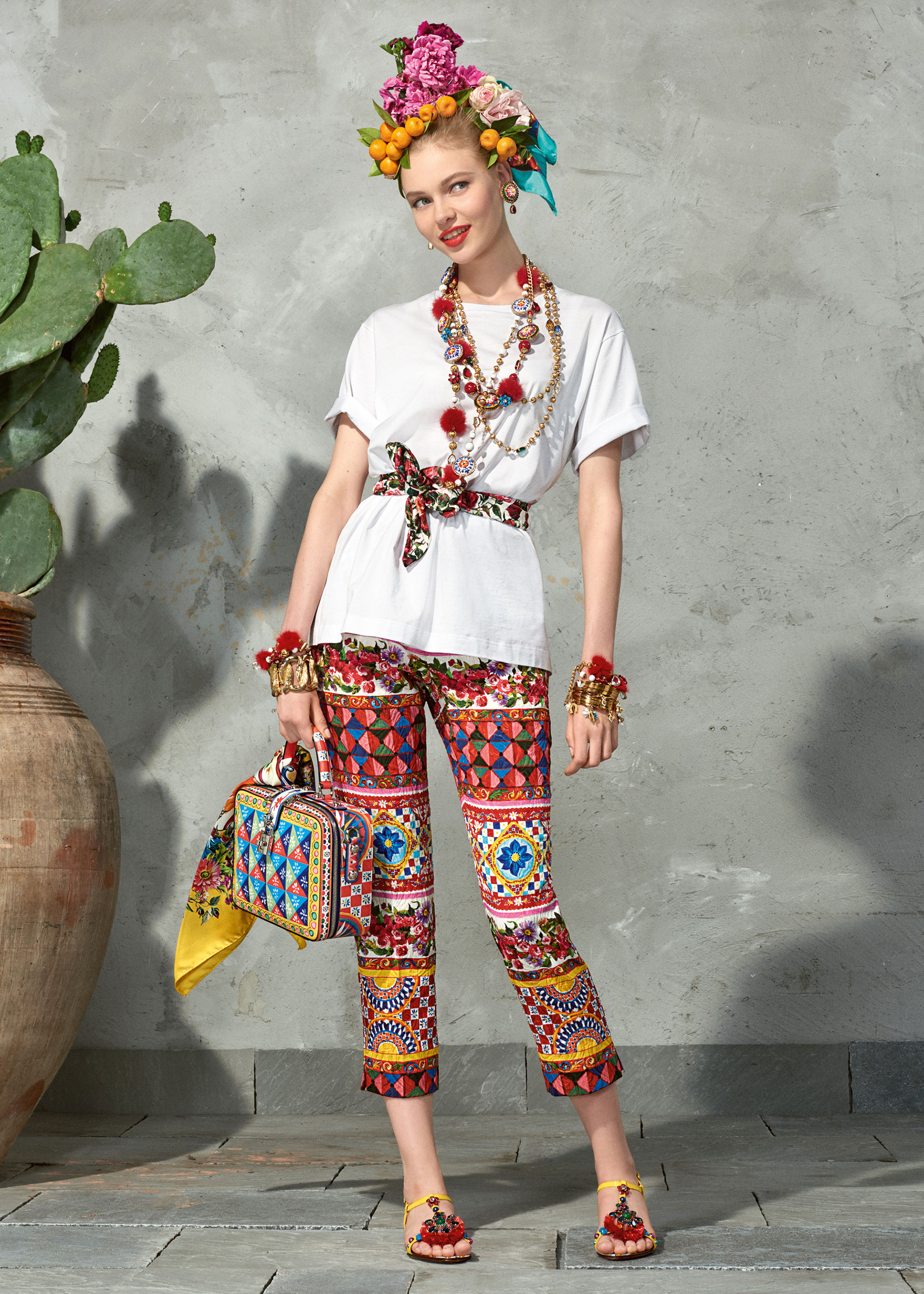 dolce and gabbana summer 2017 woman collection 107 - Dolce & Gabbana/Spring Summer 2017 Collection/ Mambo