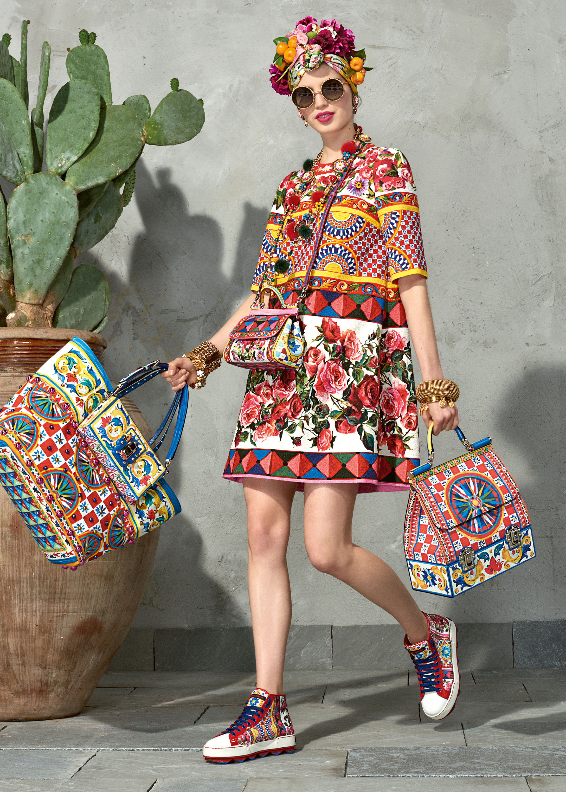 dolce and gabbana summer 2017 woman collection 109 - Dolce & Gabbana/Spring Summer 2017 Collection/ Mambo
