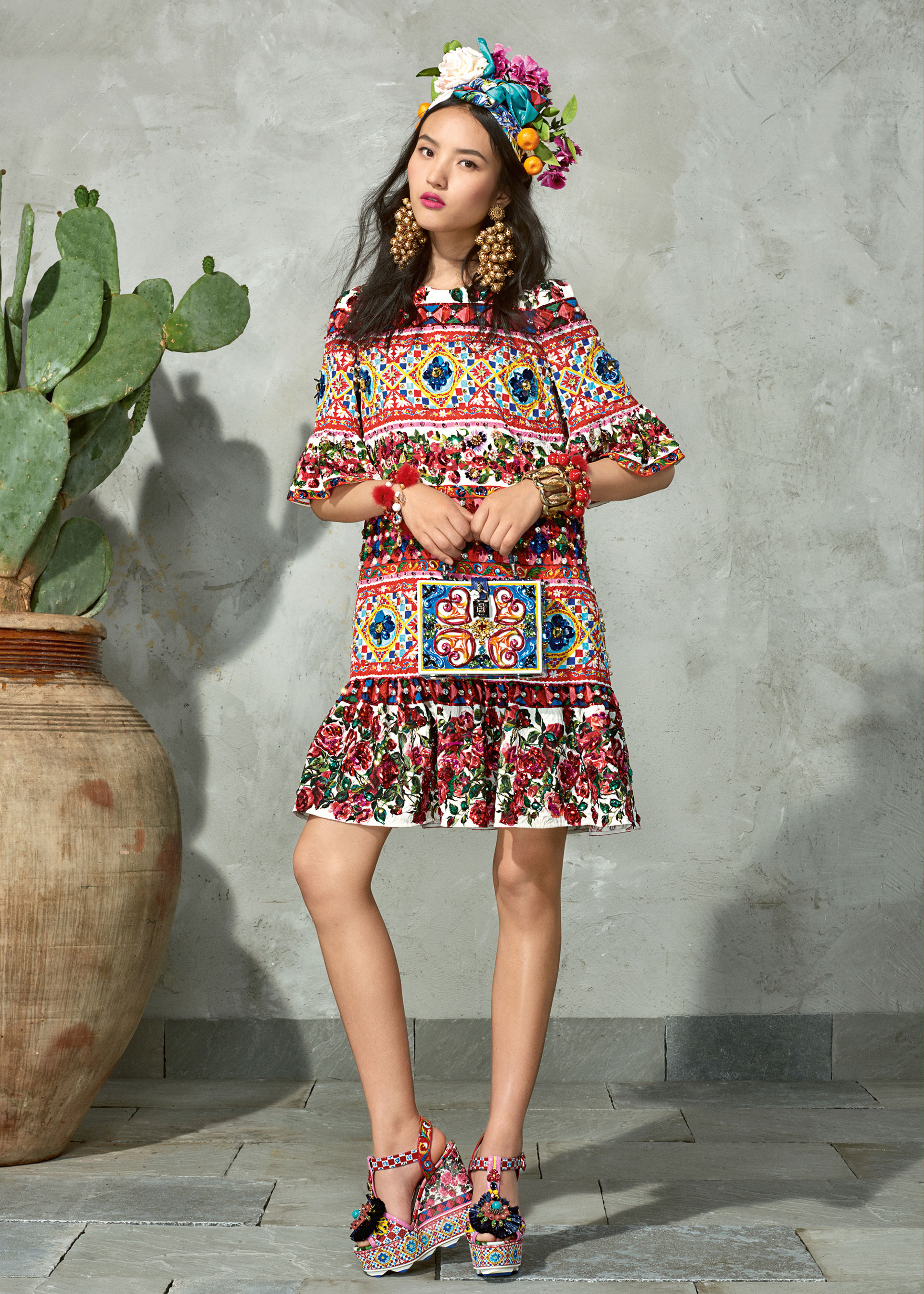 dolce and gabbana summer 2017 woman collection 110 - Dolce & Gabbana/Spring Summer 2017 Collection/ Mambo