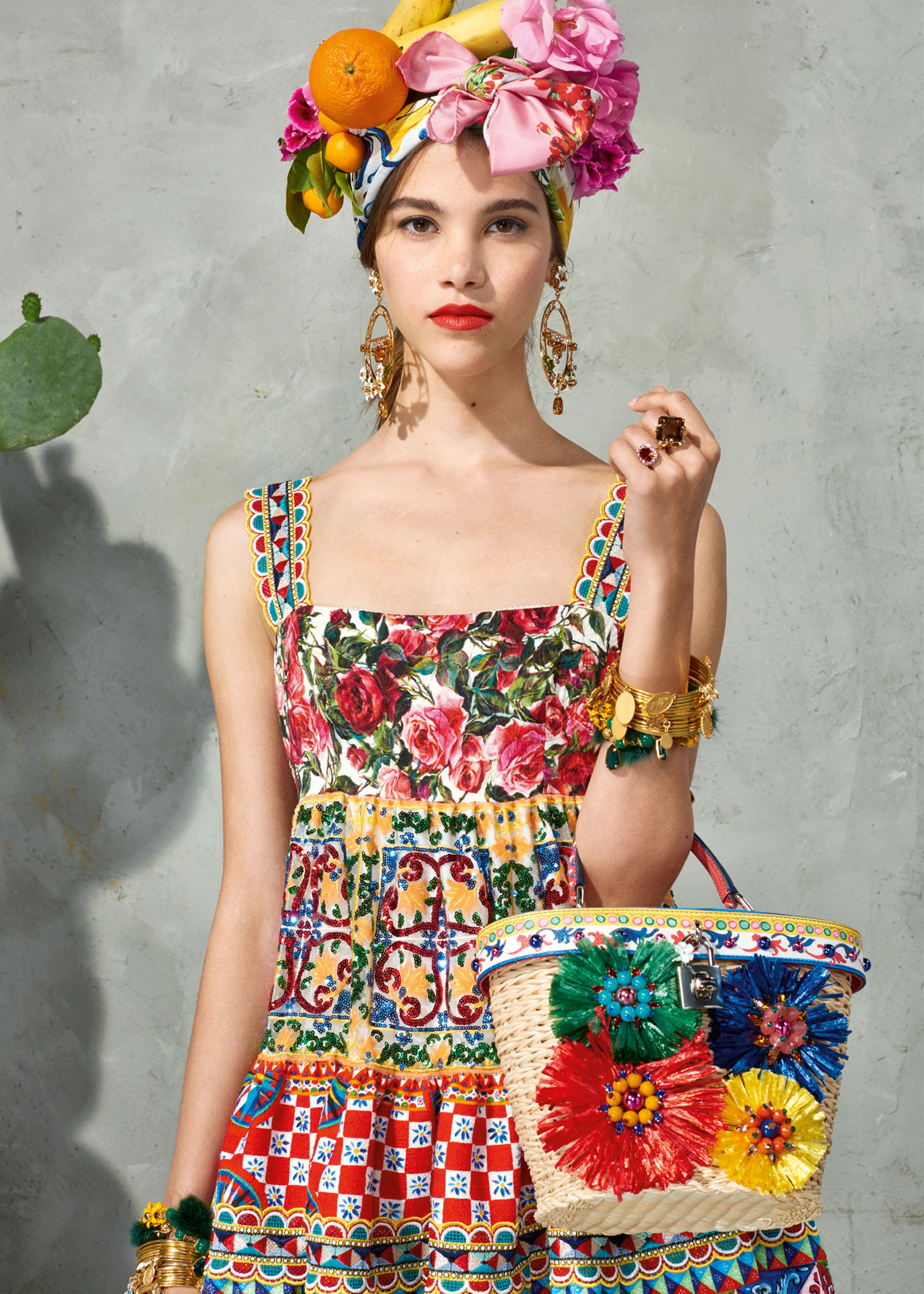 dolce and gabbana summer 2017 woman collection 111 - Dolce & Gabbana/Spring Summer 2017 Collection/ Mambo