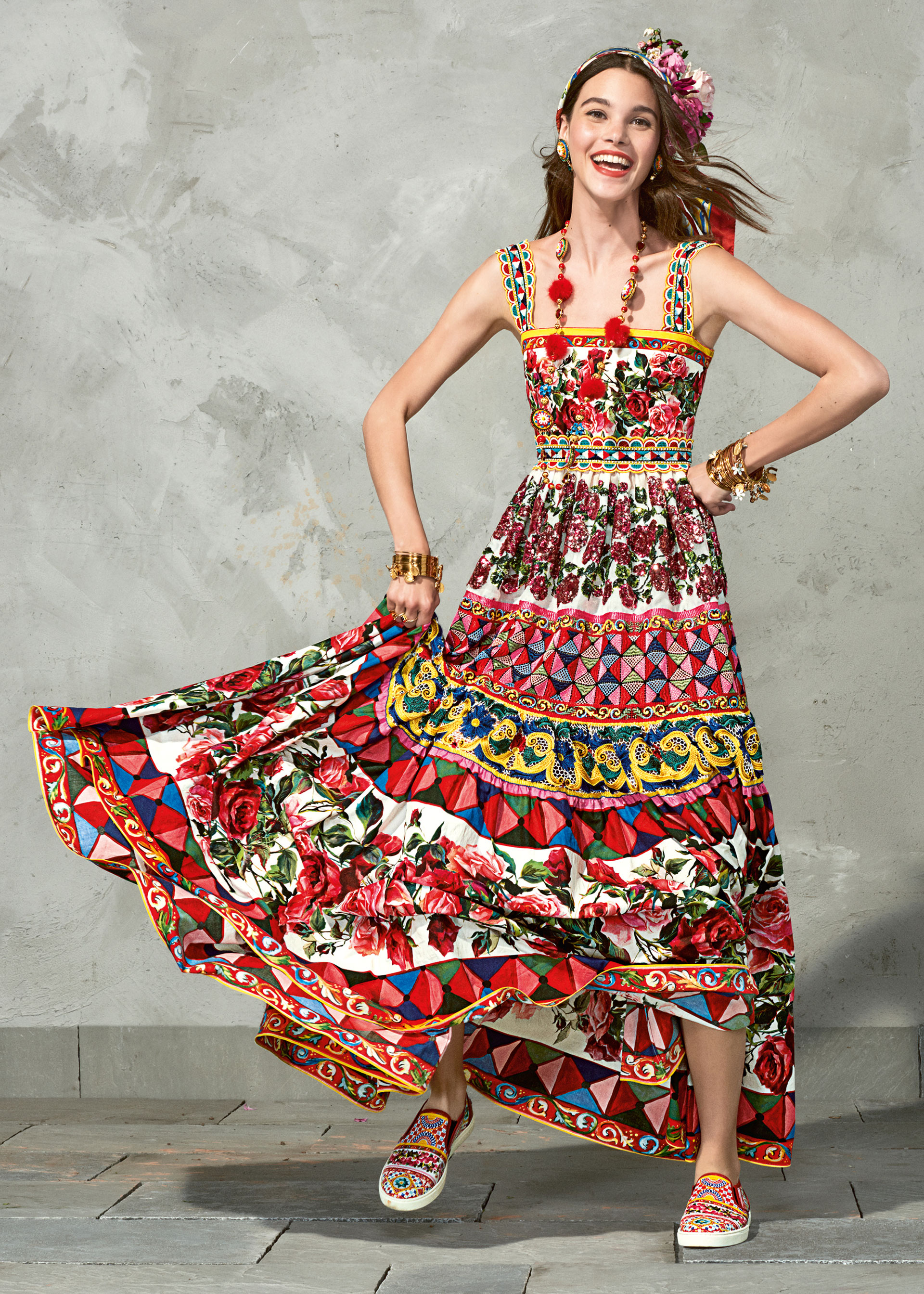 dolce and gabbana summer 2017 woman collection 112 - Dolce & Gabbana/Spring Summer 2017 Collection/ Mambo