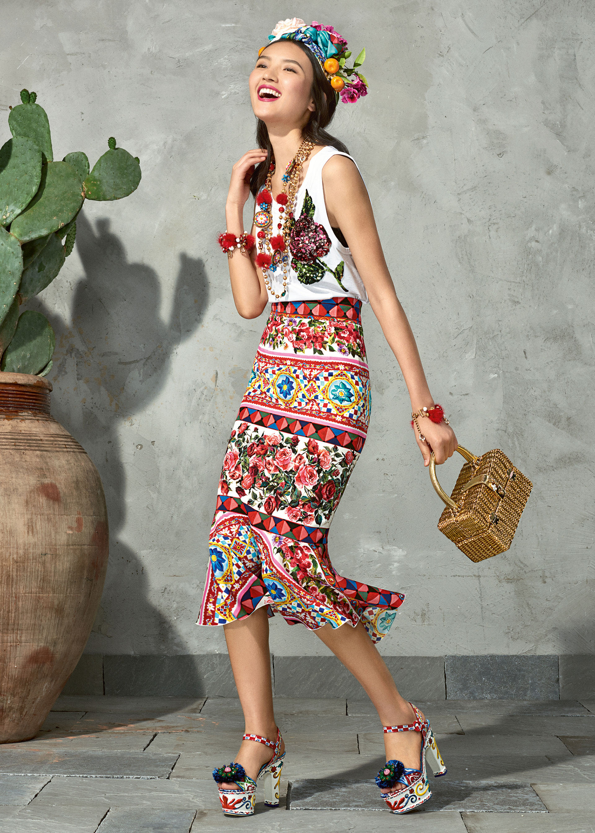 dolce and gabbana summer 2017 woman collection 89 - Dolce & Gabbana/Spring Summer 2017 Collection/ Mambo