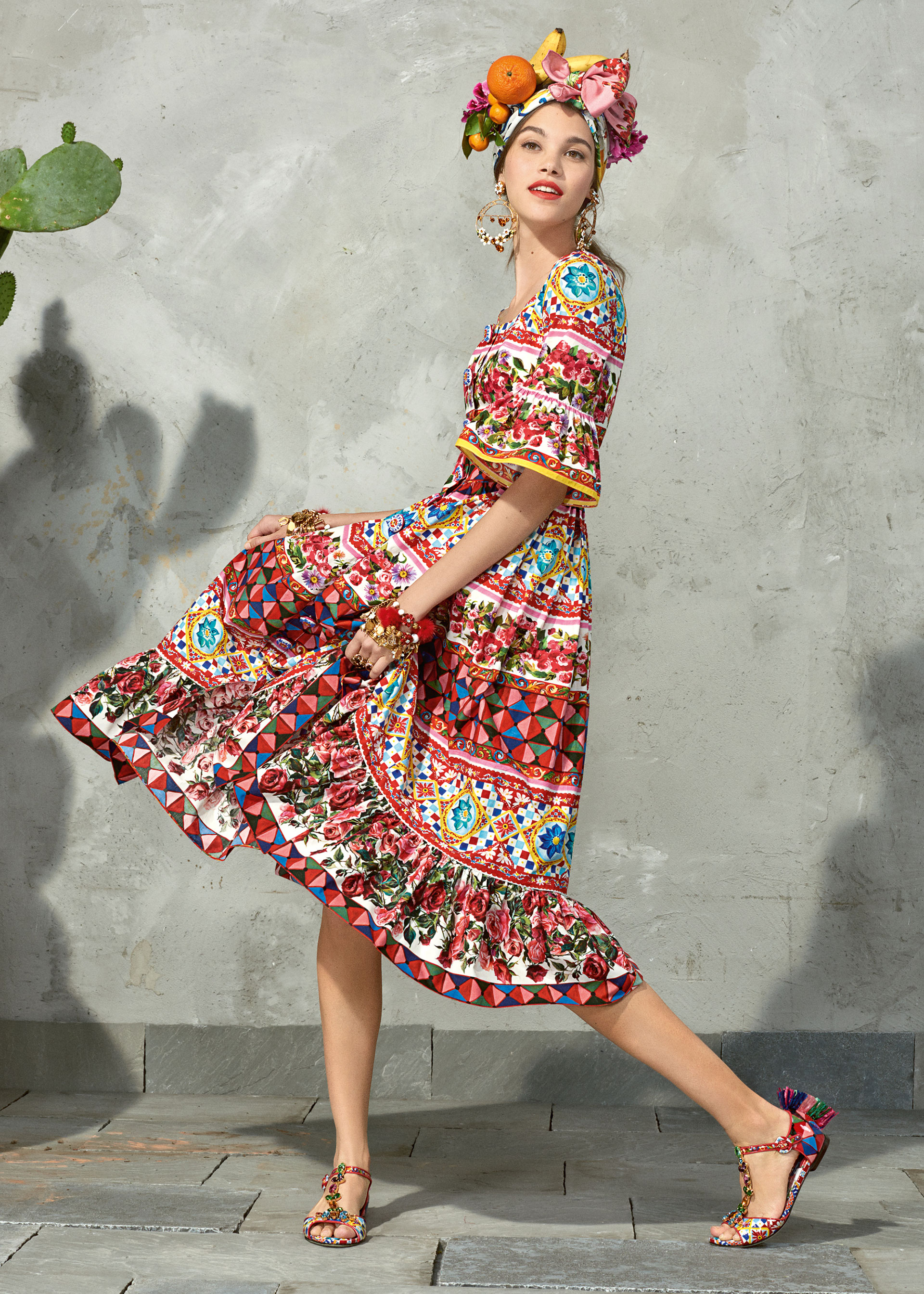 dolce and gabbana summer 2017 woman collection 91 - Dolce & Gabbana/Spring Summer 2017 Collection/ Mambo