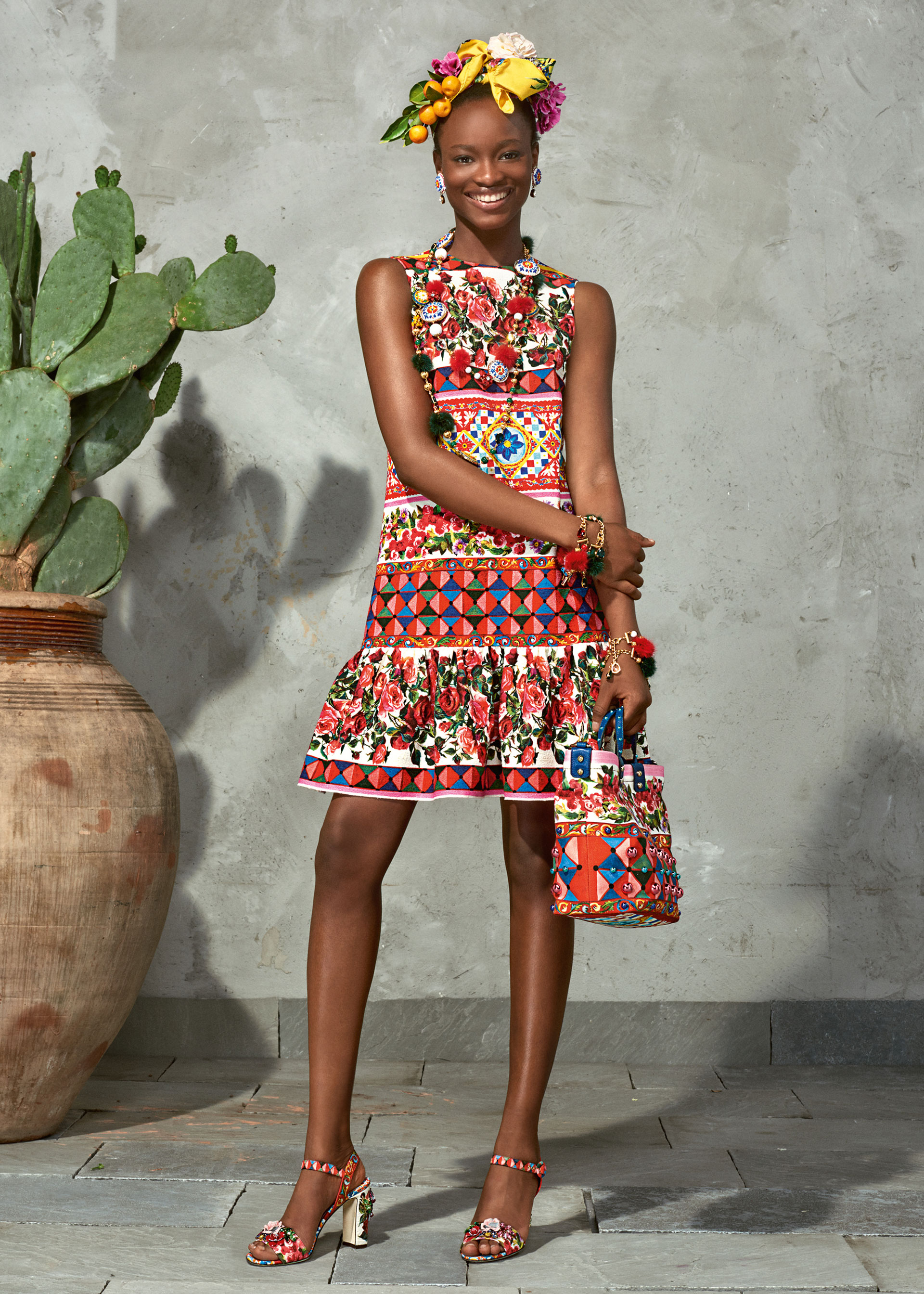 dolce and gabbana summer 2017 woman collection 96 - Dolce & Gabbana/Spring Summer 2017 Collection/ Mambo