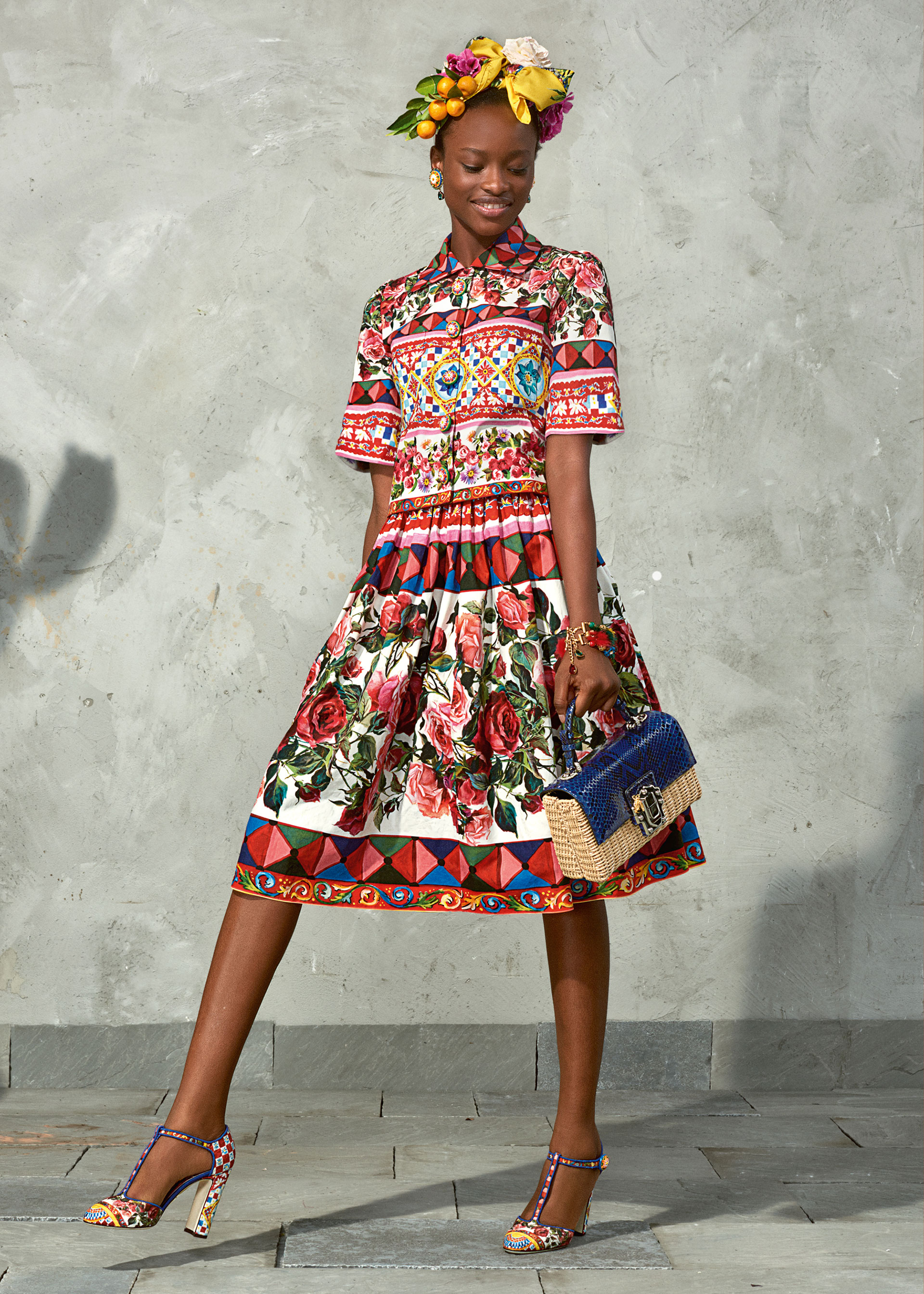 dolce and gabbana summer 2017 woman collection 98 - Dolce & Gabbana/Spring Summer 2017 Collection/ Mambo