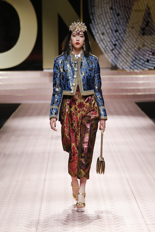 صور أزياء Dolce & Gabbana لصيف 2019