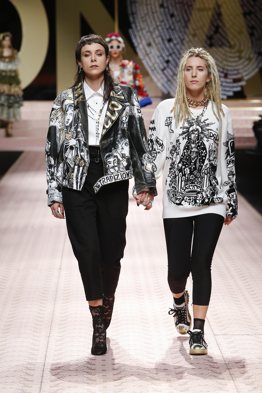 صور ازياء من Dolce & Gabbana لصيف 2019