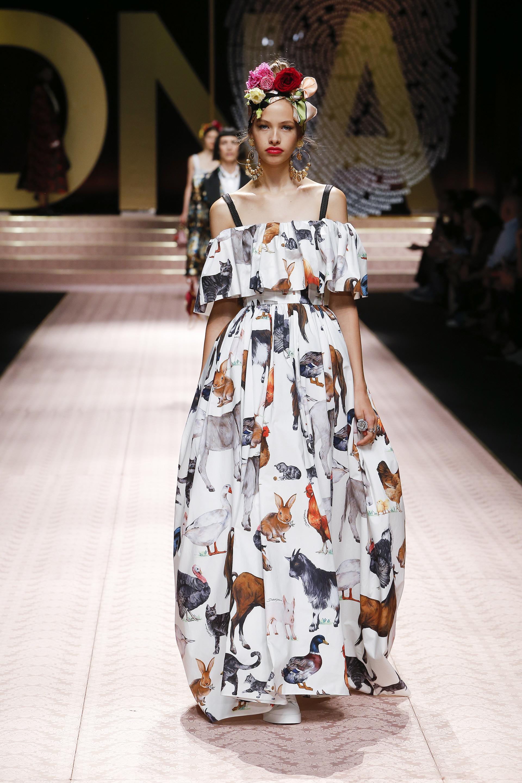 صيحات الموضة من ميلانو لصيف 2019 من Dolce & Gabbana